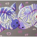 L'amour des zèbres