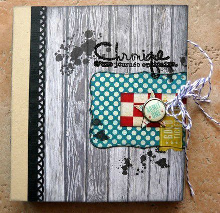mini album Chronique scraplift Daude couv