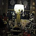 La vitrine de noël de la boutique...