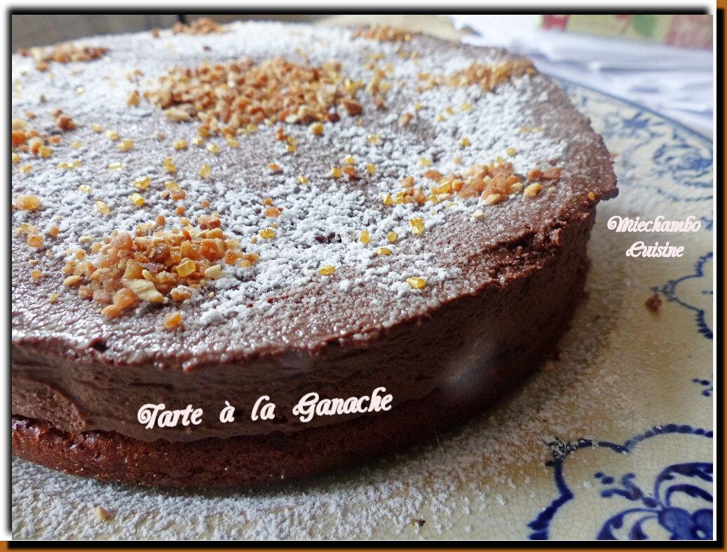 Tarte à la Ganache Mousseuse - Torta mousse al cioccolato
