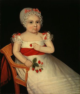 Ammi Phillips, The strawberry girl