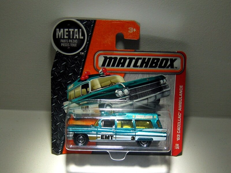Cadillac Ambulance de 1963 (Matchbox 2017)