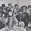 l'illustre troupe du Théâtre En Miettes à Bordeaux en 1972