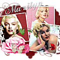 Tag marilyn red heart