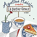 Agatha raisin enquête : la quiche fatale (agatha raisin and the quiche of death) - m. c. beaton