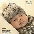 Plein de patrons tricots bébé gratuits