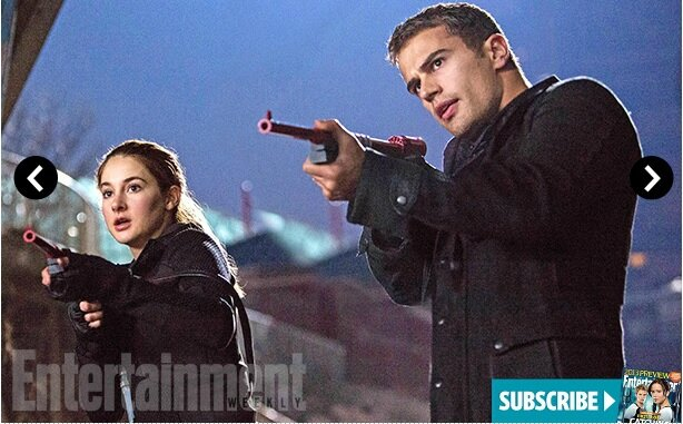 Tris and Four Shailene Woodley and Theo James02 Divergent movie