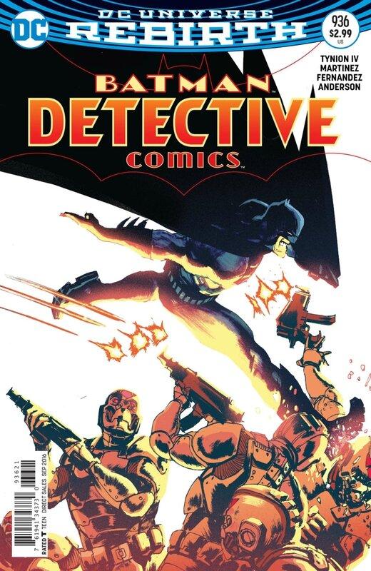 rebirth detective comics 936 variant
