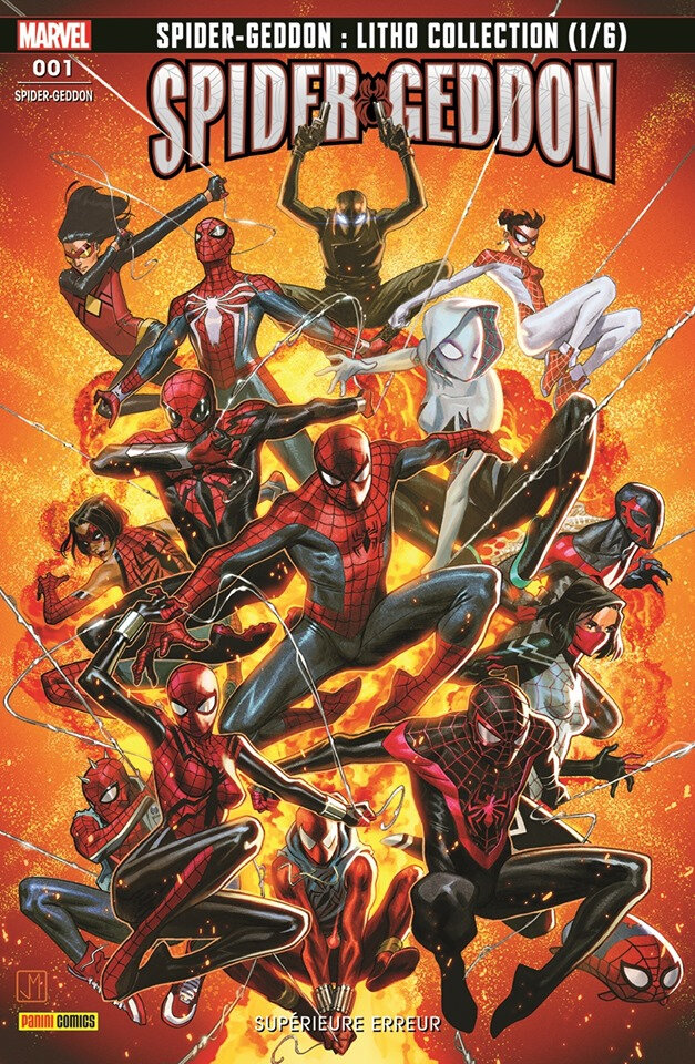 Panini Marvel Fresh start Spider-Geddon