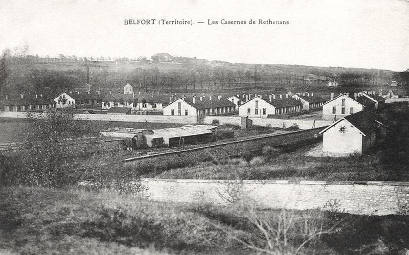 caserne de Rethenans (Belfort)