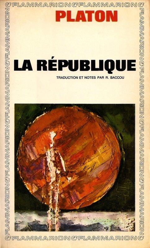 Platon République 1966 couv
