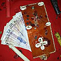 Bedou ou portte-monnaie d'argent