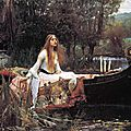 The lady of shalott ...