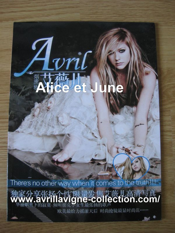 Avril Lavigne Photo book There's No Other Way [...]-Chine (2011)