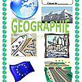 Page titre pour la géographie