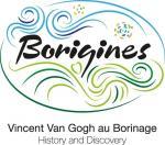 Borigines Logo and Strapline RVB