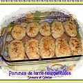 Pommes de terre au four reconstituées ... un accompagnement idéal pour les fêtes !