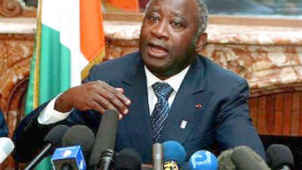 L'INTERVIEW DU PRÉSIDENT LAURENT GBAGBO A RFI
