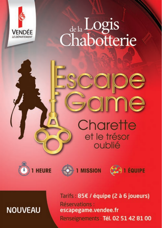 Escape Game Logis de la Chabotterie`