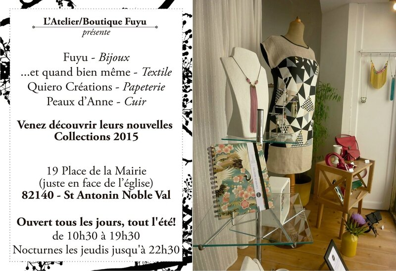 Atelier - Boutique FUYU