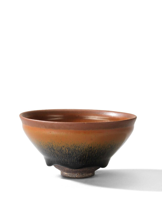 A Jian 'Hare's fur' tea bowl, Southern Song dynasty (1127-1279)