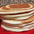 Pancake au yaourt (sans gluten)... nouvelle version