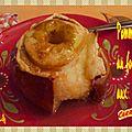 Pommes au four aux carambars*