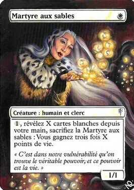 Martyr of Sand Altered