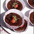 Gourmandises fraises choc