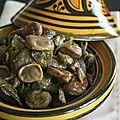 Salade de fèves à la marocaine : cuisson vapeur au cumin et citron confit