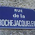 Saint Aubin de Baubigné (79), rue de La Rochejaquelein