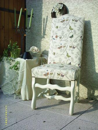 chaise louis XIII après