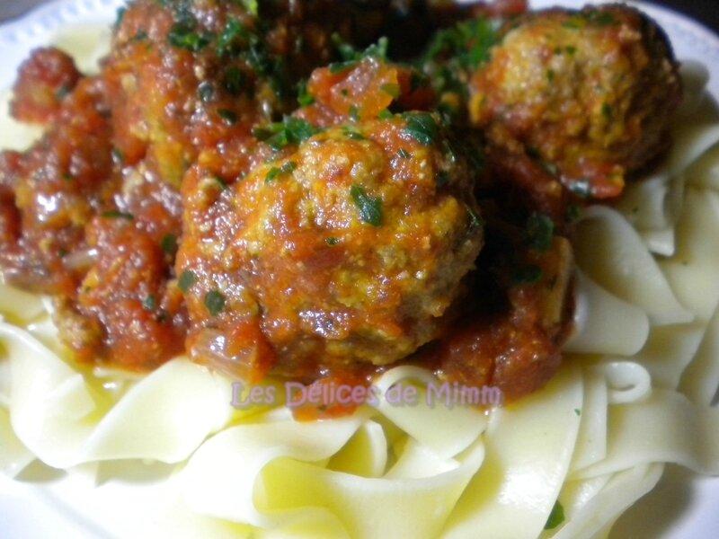 Boulettes de viande à l'Italienne 6