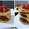 Hamburger maison pour