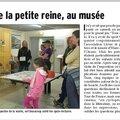 On en parle dans la presse : tous à vélo au musée !!
