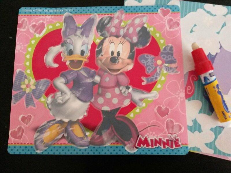 Le test des coloriages Aquadoodle Disney