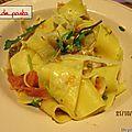 Un plat de pasta détox...........