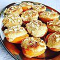 Abricots fourrés aux amandes & mascarpone