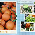 Marché de provence scrap scrapbooking digital
