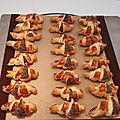 Minis croissants et minies pizzas pour l'apéritif 014