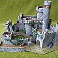 Black rock castle