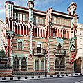 La casa vicens - barcelone - espagne