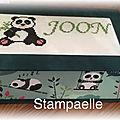 Cartonnage panda ...