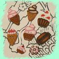 Et encore petits gâteaux ... et glaces
