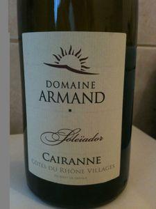 CAIRANNE DOMAINE ARMAND