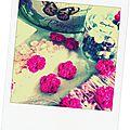 Des perles et des fleurs - some beads and flowers