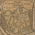 Rennes, l'incendie de 1720
