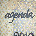 Agenda et carte