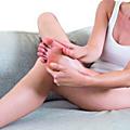 Auto massages pour les jambes lourdes