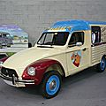 Citroën acadiane marchand de glaces